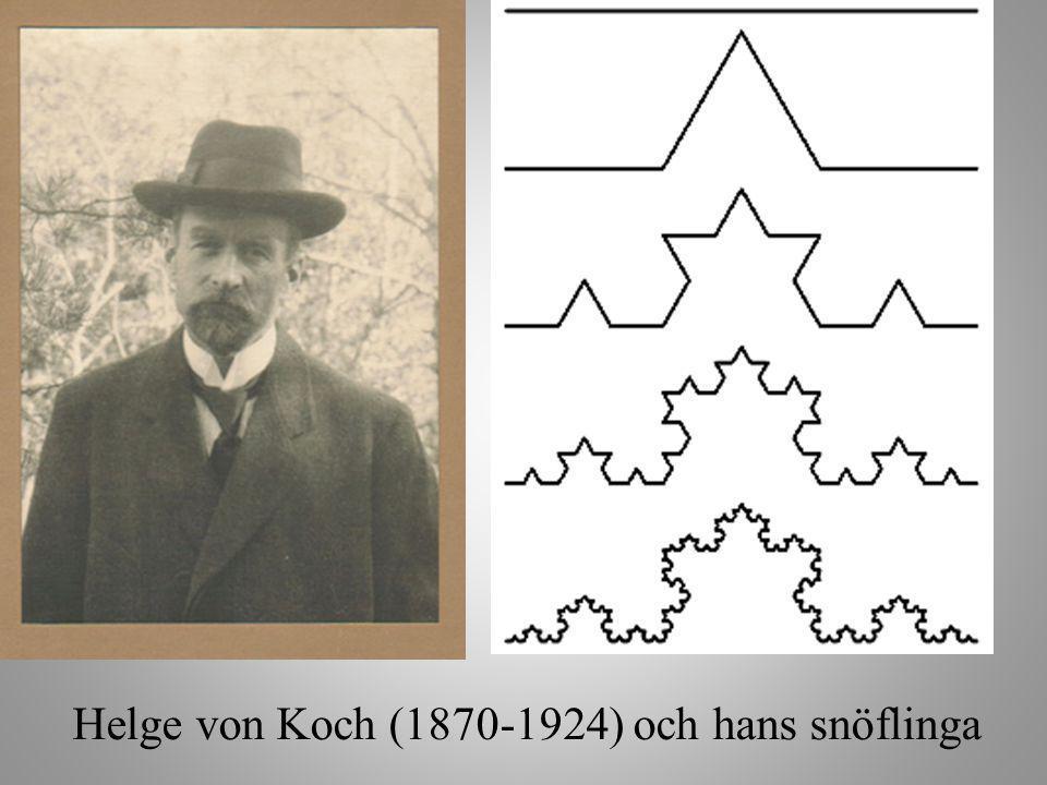 Helge von Koch (1870-1924) och hans snöflinga