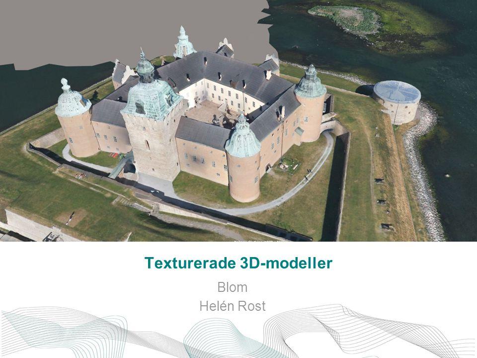 Texturerade 3D-modeller