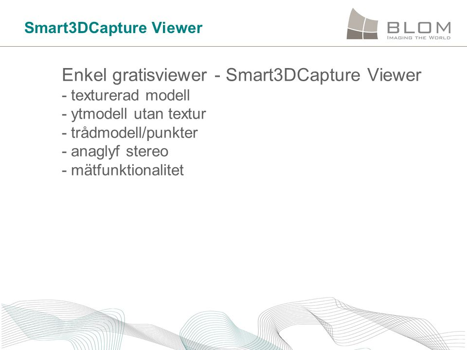 Smart3DCapture Viewer