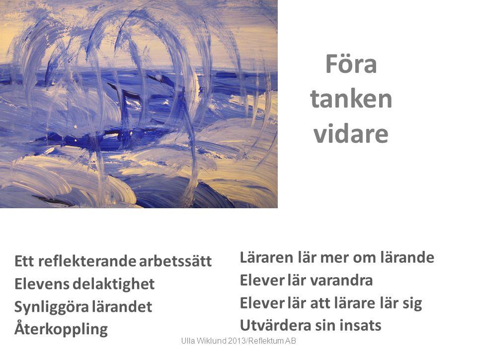 Ulla Wiklund 2013/Reflektum AB