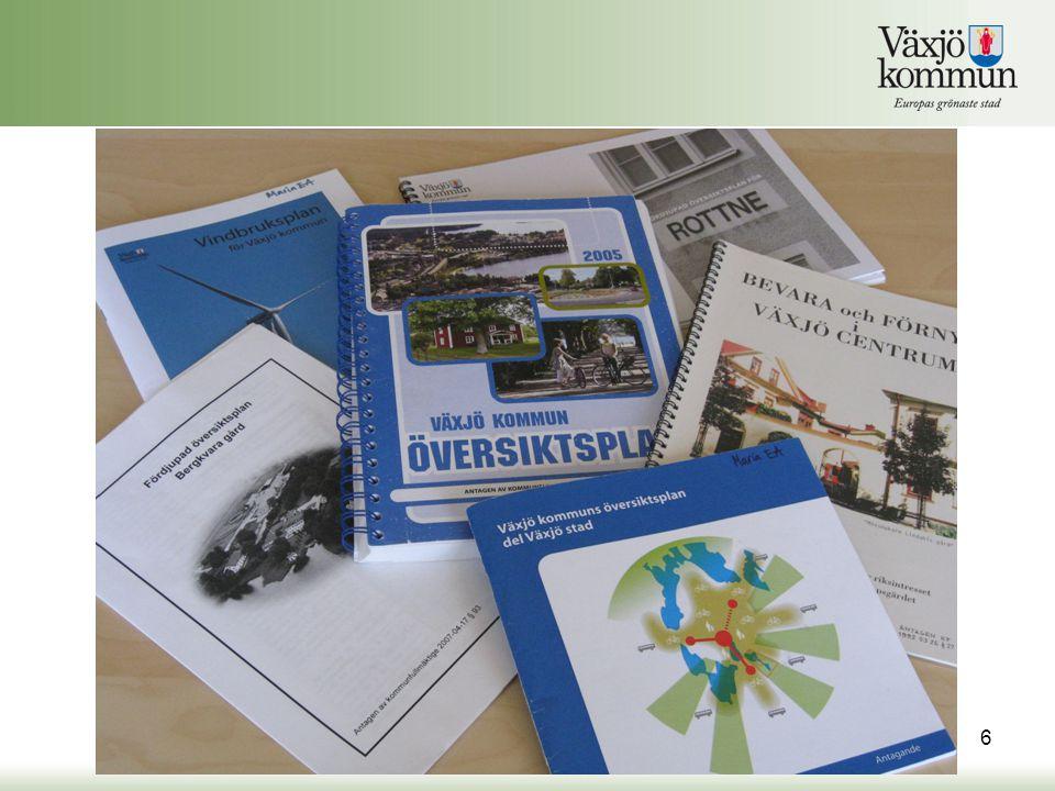 Tematiska tillägg skall, vid revidering eller aktualitetsförklaring av den kommunövergripande översiktsplanen, bearbetas in till ett samlat dokument.