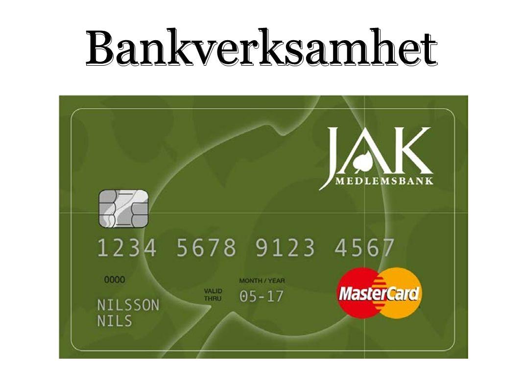 Bankverksamhet