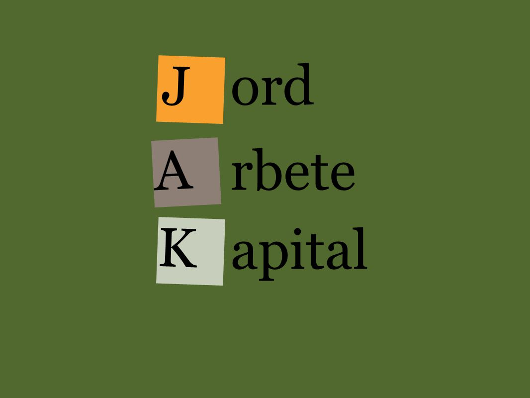 J ord rbete apital A K