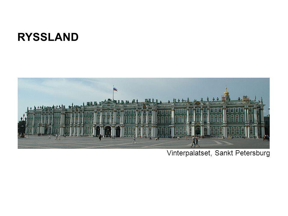RYSSLAND Vinterpalatset, Sankt Petersburg