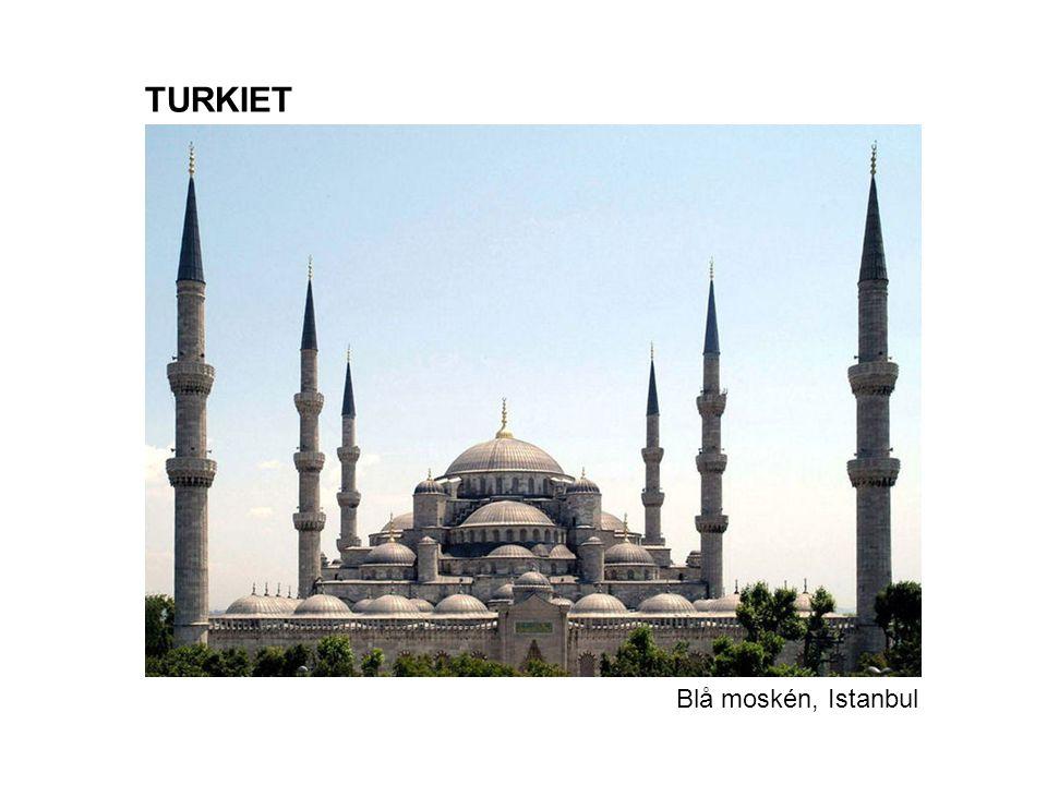 TURKIET Blå moskén, Istanbul
