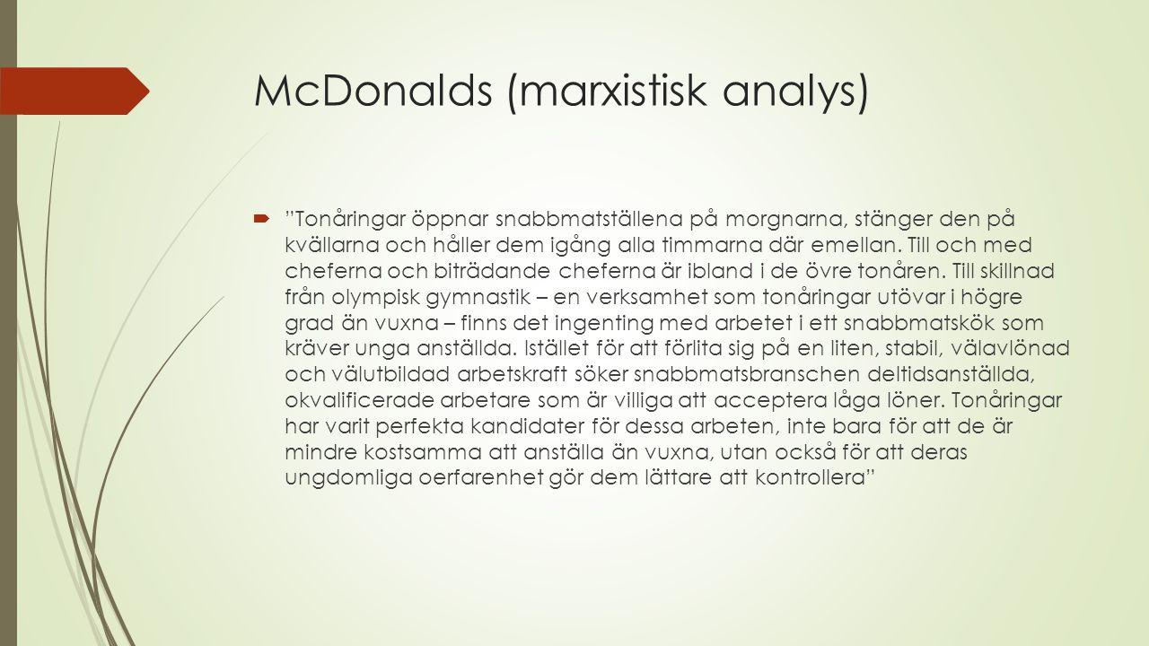 McDonalds (marxistisk analys)