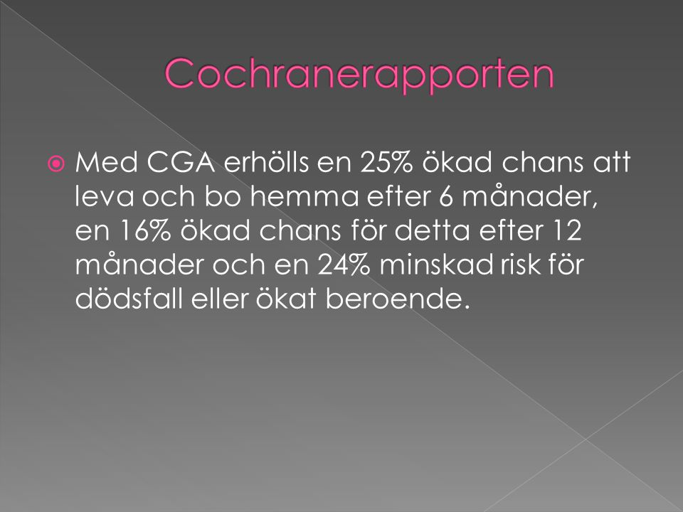 Cochranerapporten