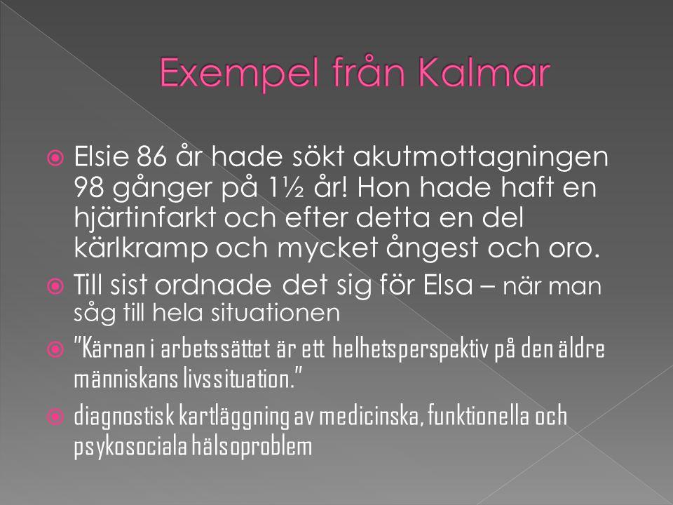 Exempel från Kalmar