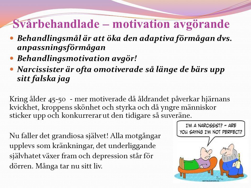 Svårbehandlade – motivation avgörande