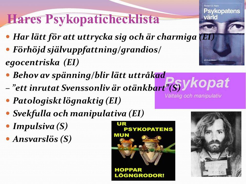 Hares Psykopatichecklista