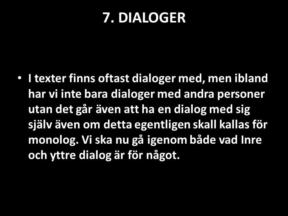 7. DIALOGER