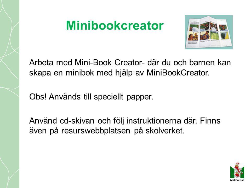 Minibookcreator
