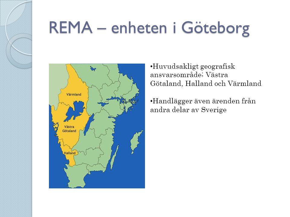 REMA – enheten i Göteborg