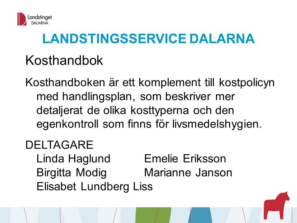 LANDSTINGSSERVICE DALARNA