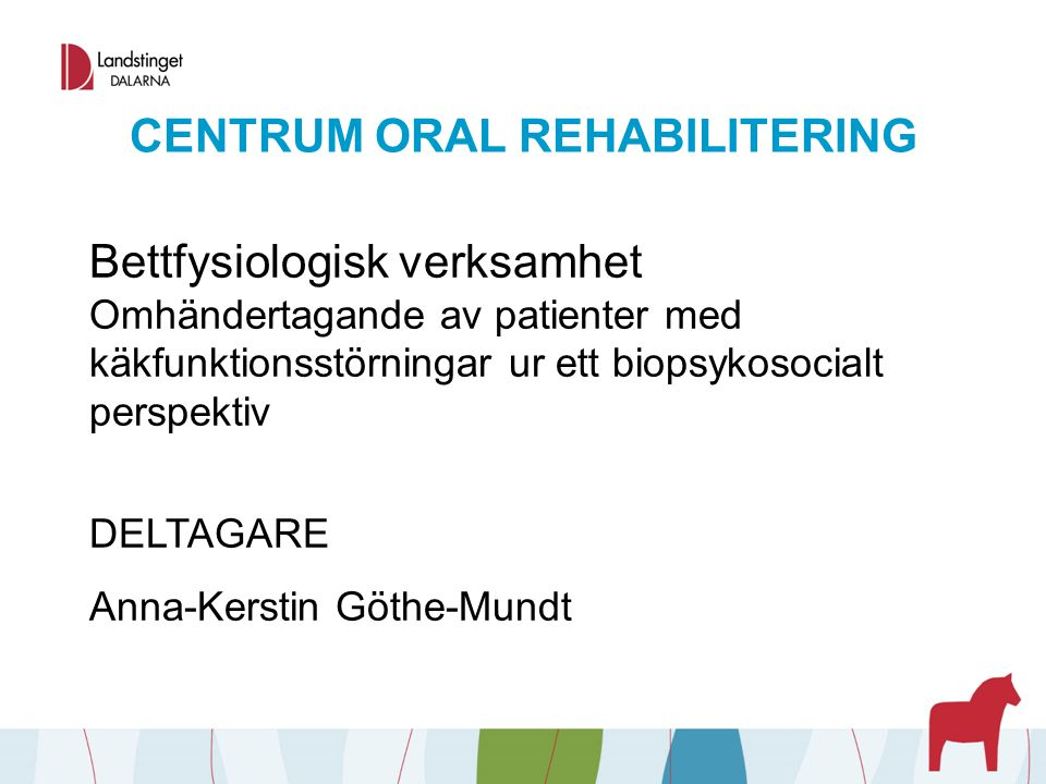CENTRUM ORAL REHABILITERING