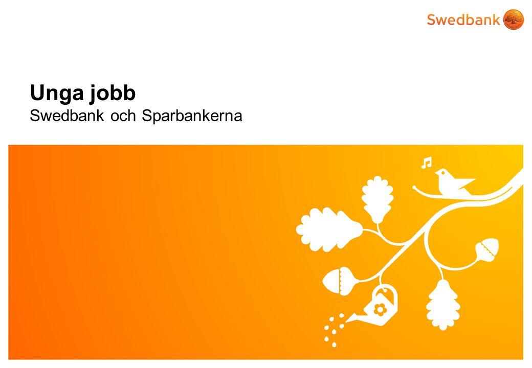 Unga jobb Swedbank och Sparbankerna
