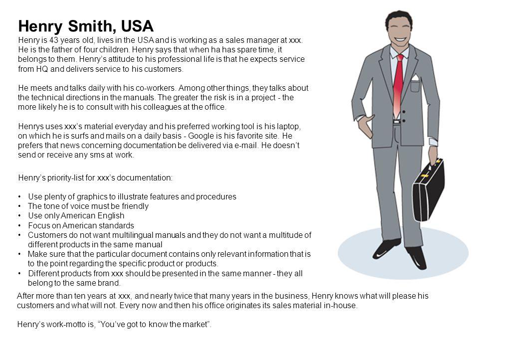 Henry Smith, USA
