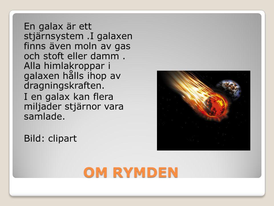 En galax är ett stjärnsystem