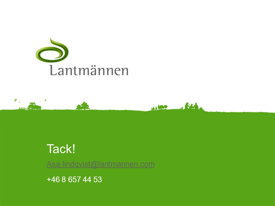 Asa.lindqvist@lantmannen.com +46 8 657 44 53