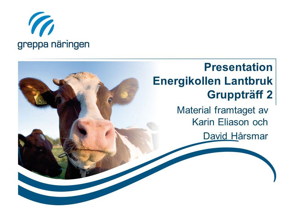 Presentation Energikollen Lantbruk Gruppträff 2