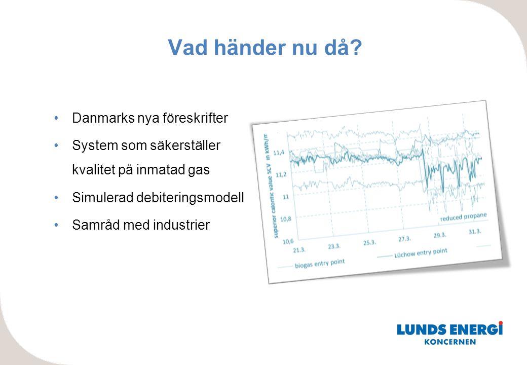 Vad händer nu då Danmarks nya föreskrifter