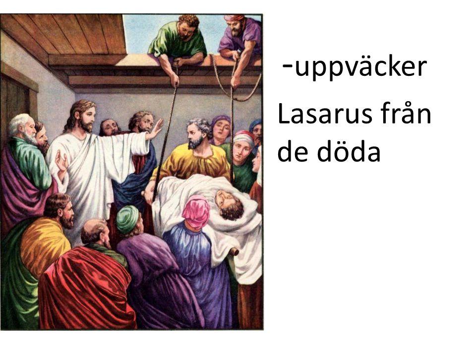 -uppväcker Lasarus från de döda Se UFO = Gud