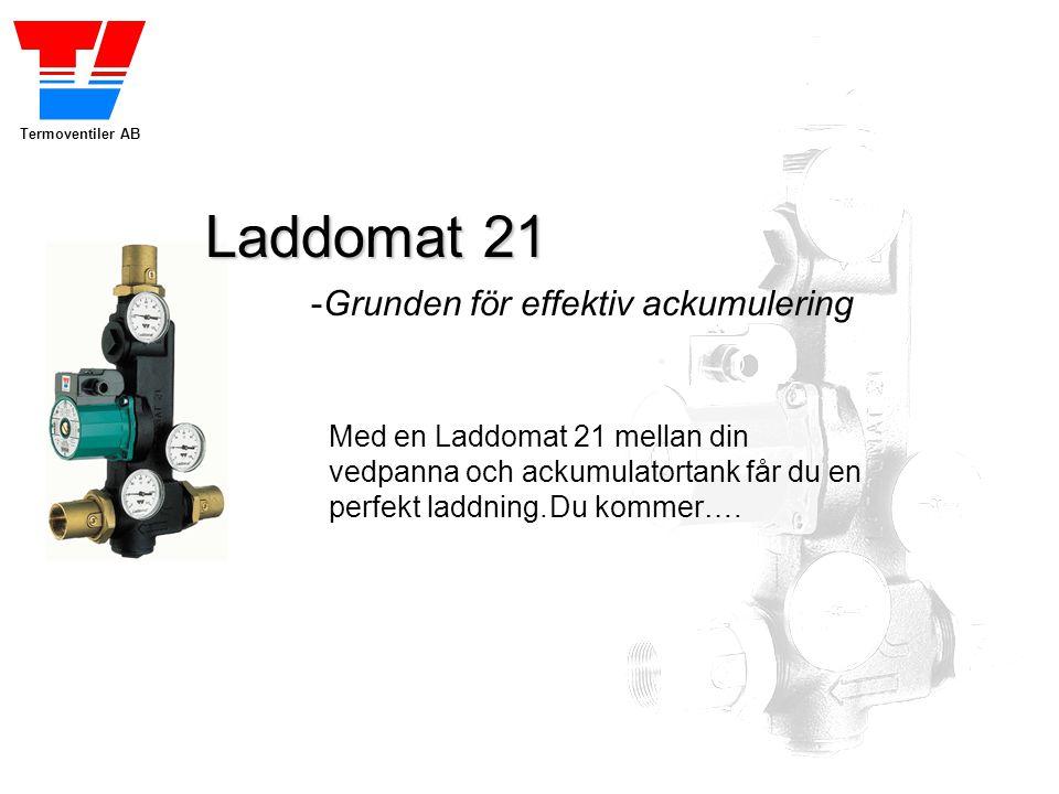 Laddomat 21 -Grunden för effektiv ackumulering
