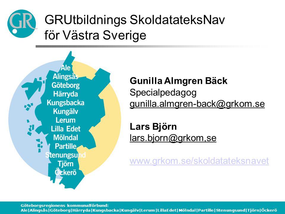 GRUtbildnings SkoldatateksNav för Västra Sverige