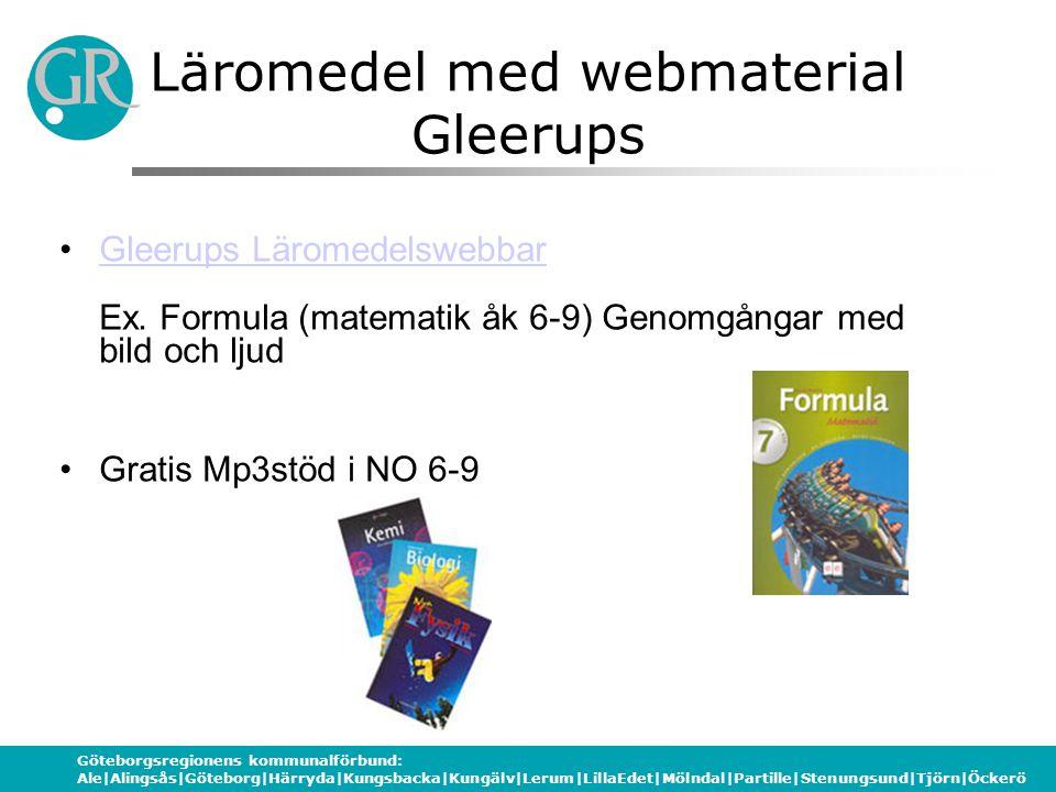 Läromedel med webmaterial Gleerups