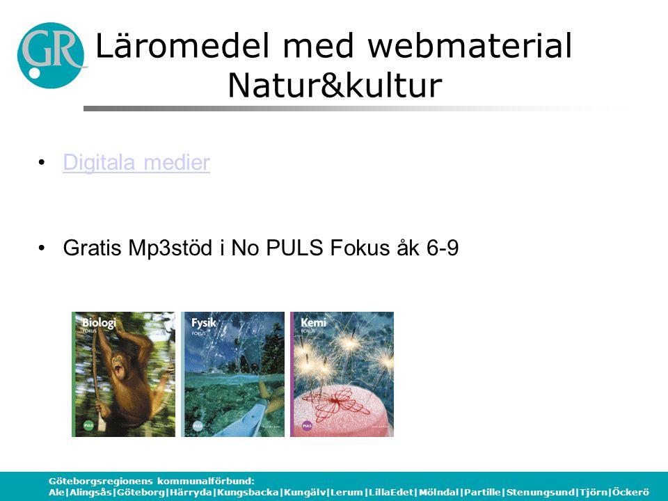 Läromedel med webmaterial Natur&kultur