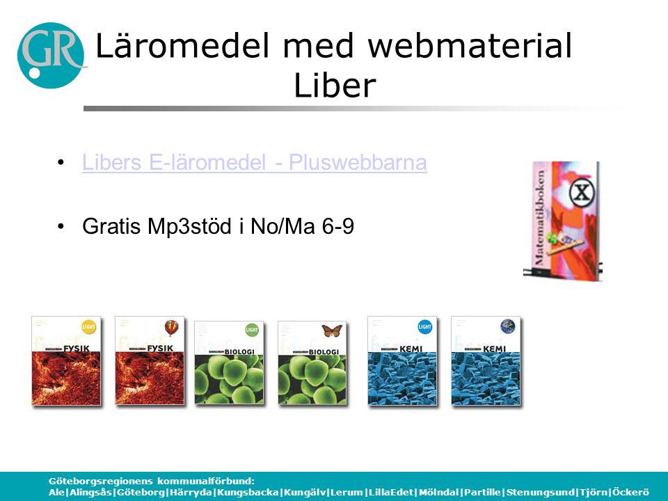 Läromedel med webmaterial Liber