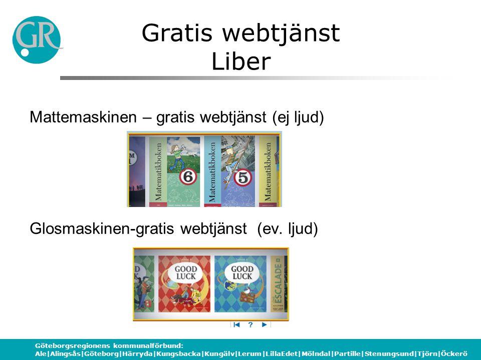 Gratis webtjänst Liber