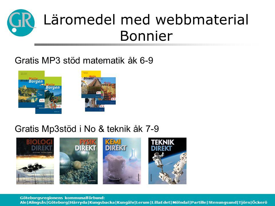 Läromedel med webbmaterial Bonnier