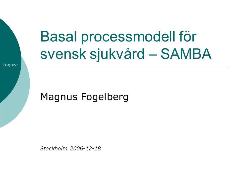Basal processmodell för svensk sjukvård – SAMBA