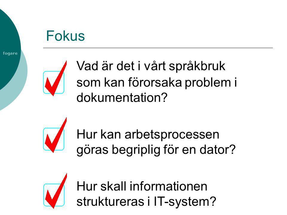 Vad är det i vårt språkbruk som kan förorsaka problem i dokumentation