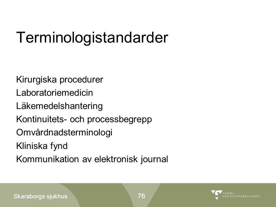 Terminologistandarder