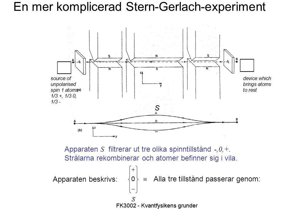 Fk3002 Kvantfysikens grunder