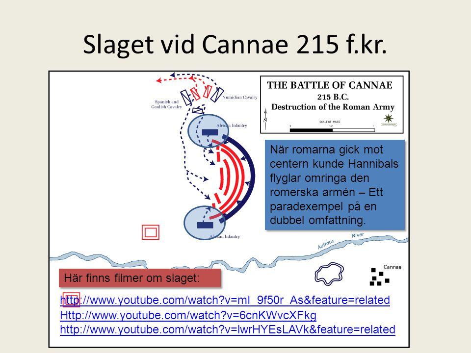 Slaget vid Cannae 215 f.kr.