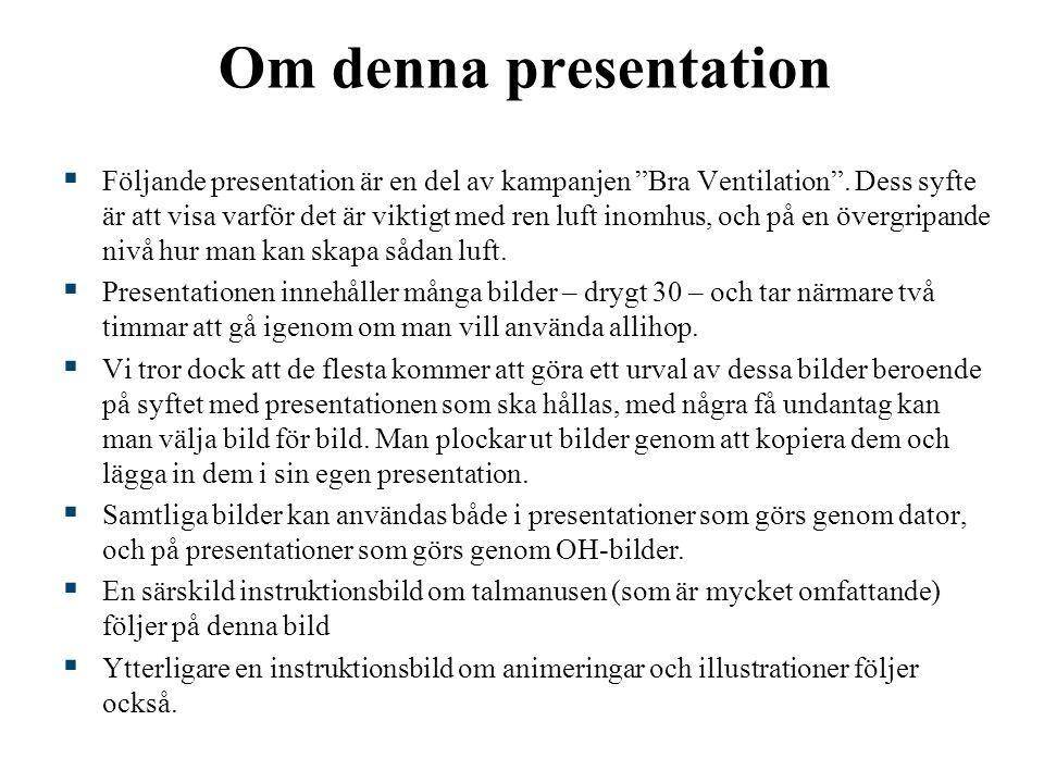 Om denna presentation