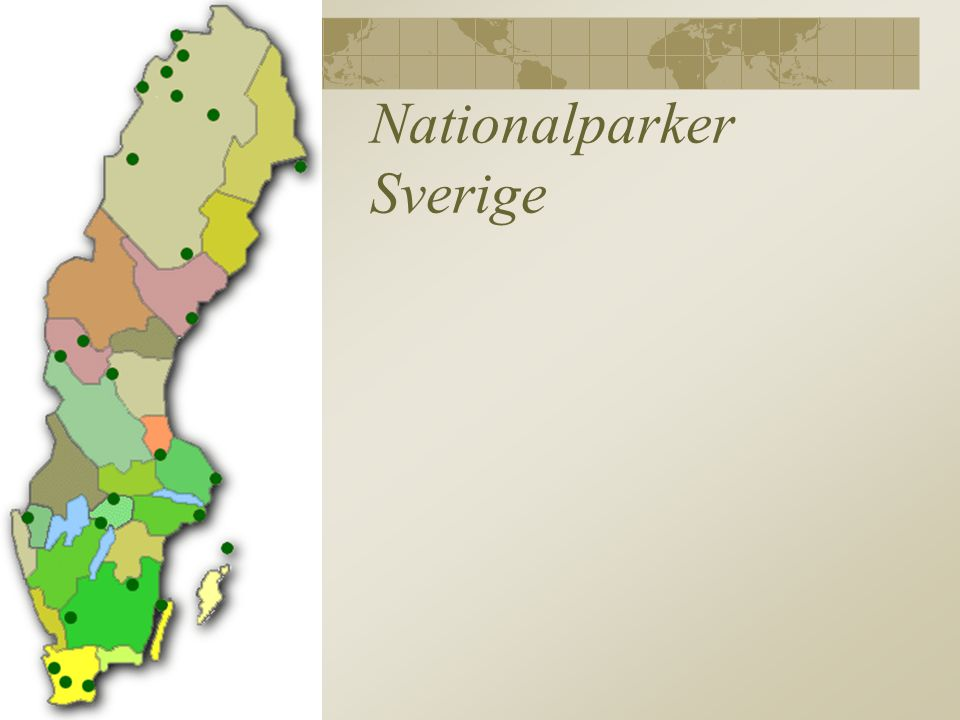 Nationalparker Sverige