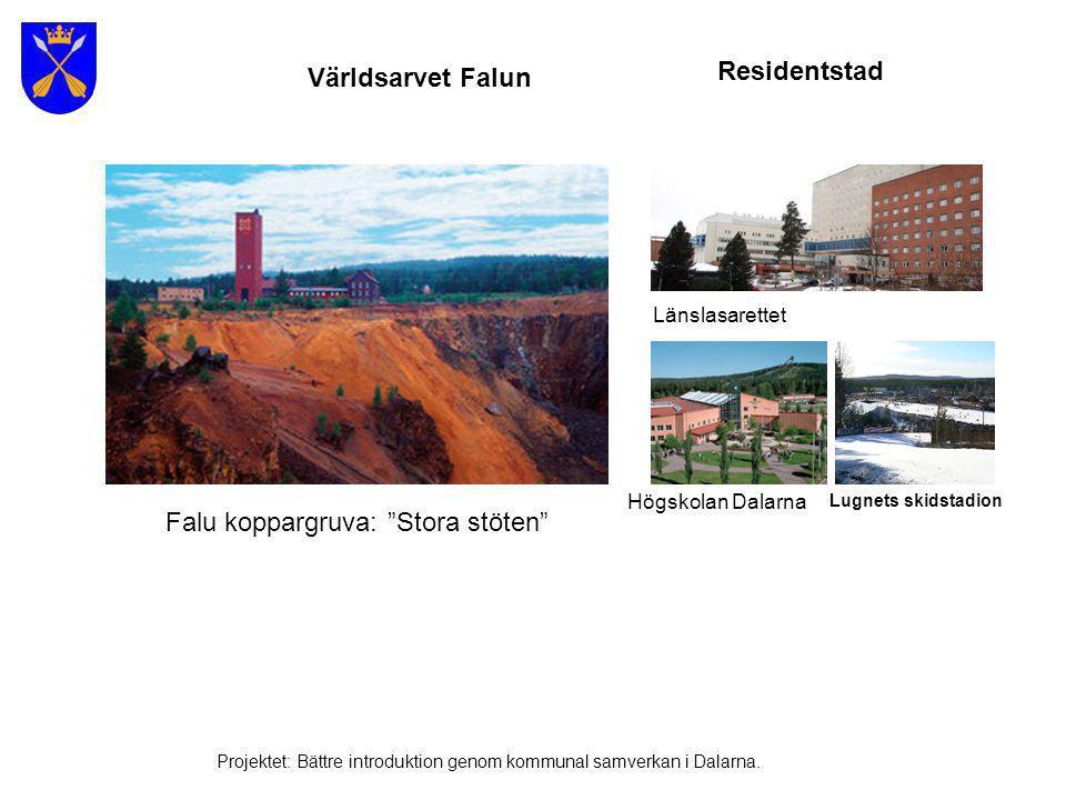 Falu koppargruva: Stora stöten