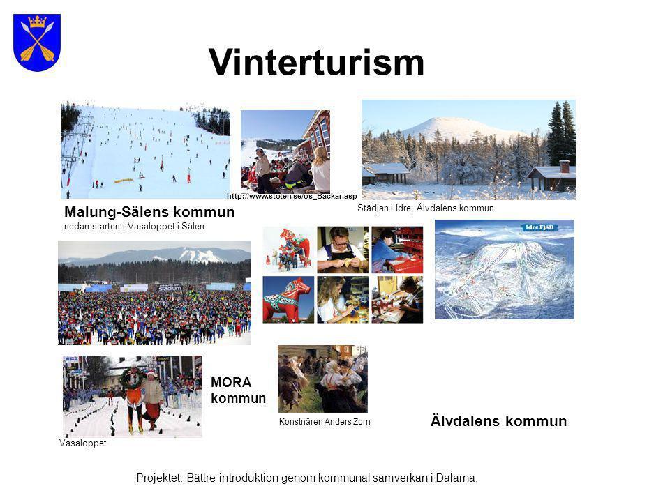 Vinterturism Malung-Sälens kommun Älvdalens kommun MORA kommun