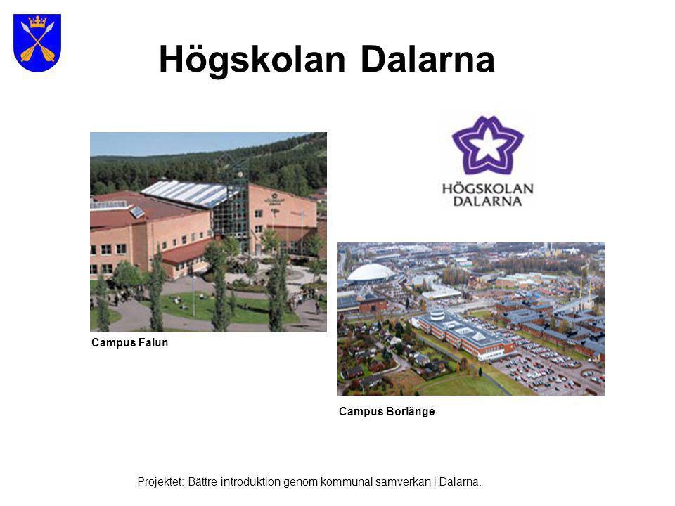 Högskolan Dalarna Campus Falun Campus Borlänge