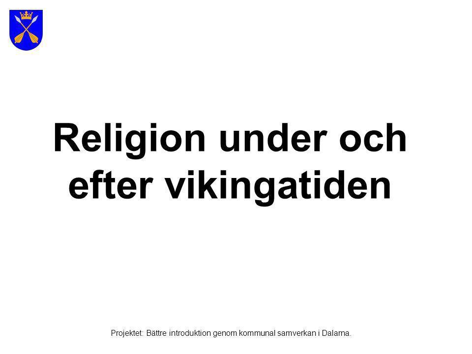 Religion under och efter vikingatiden