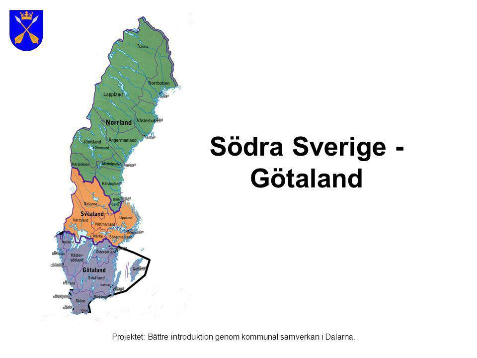 Södra Sverige - Götaland