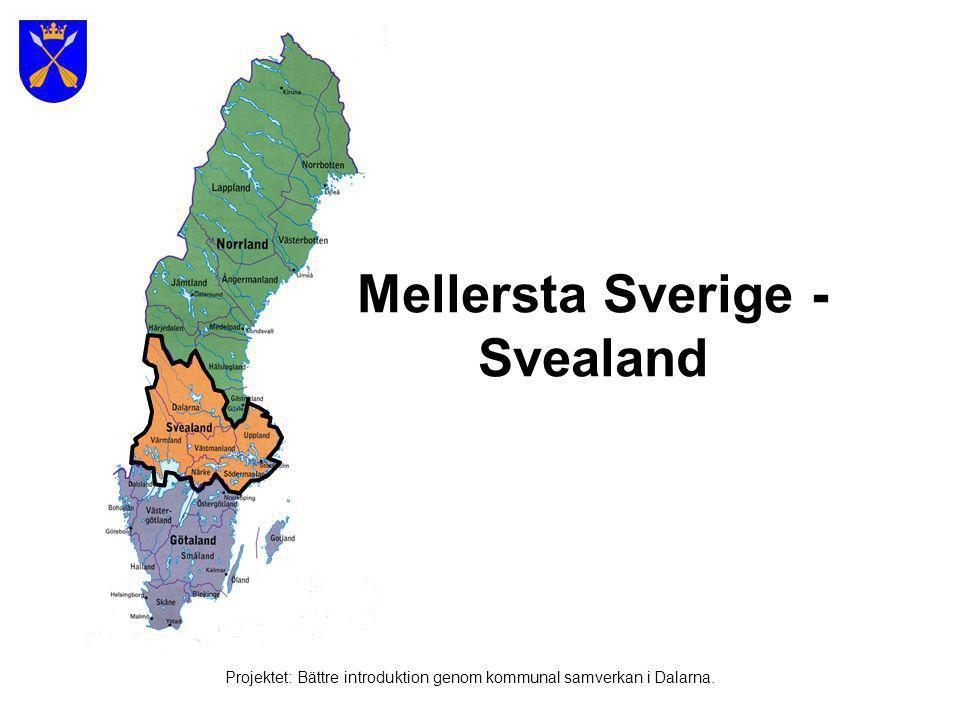 Mellersta Sverige - Svealand