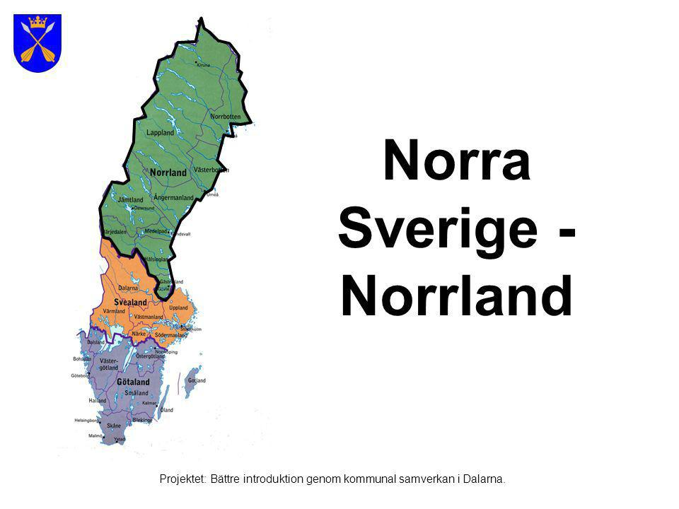 Norra Sverige - Norrland
