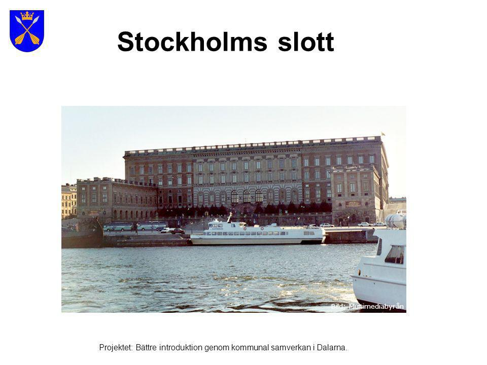 Stockholms slott Bild: Multimediabyrån.