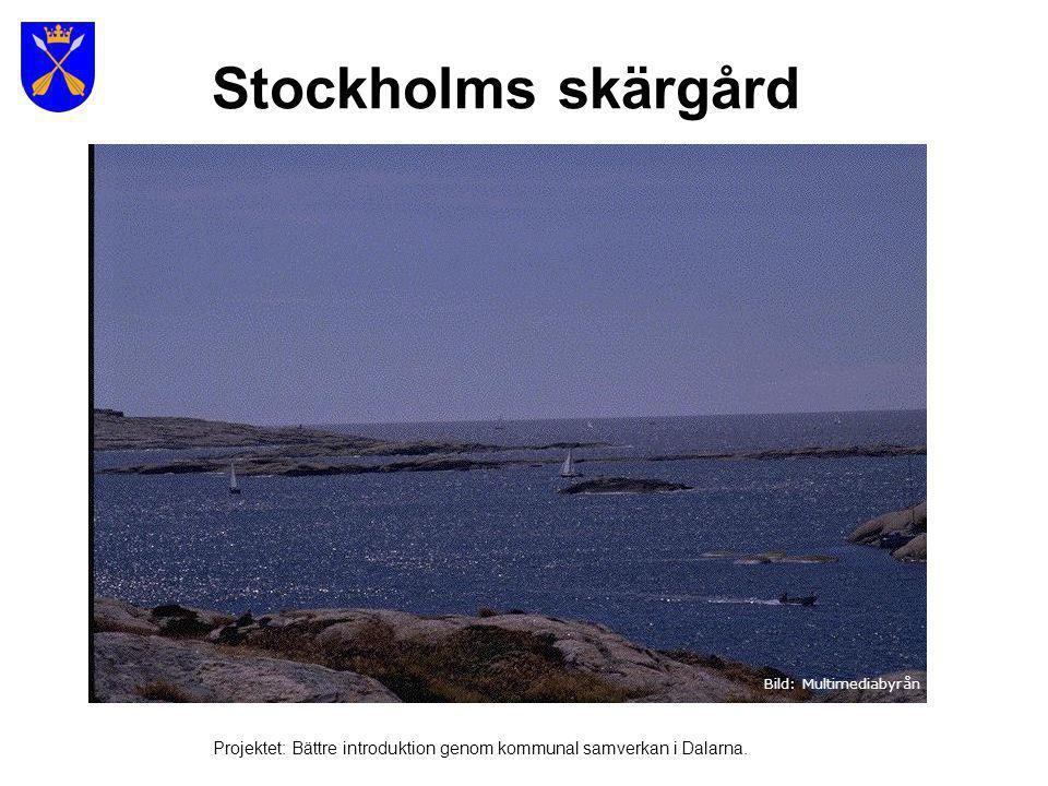 Stockholms skärgård 25 000 öar