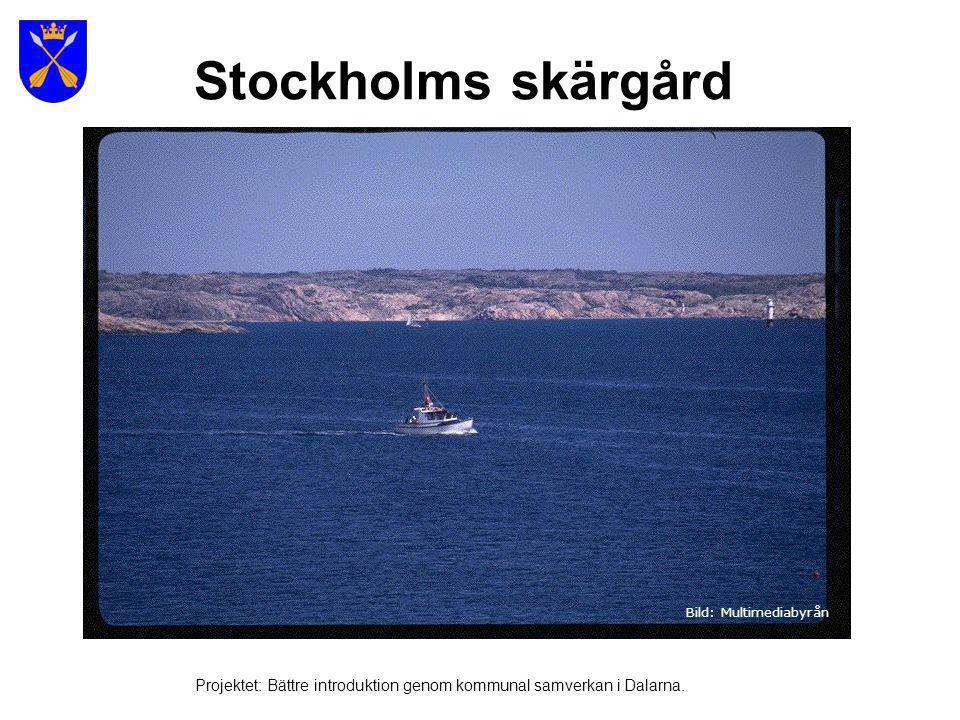 Stockholms skärgård Bild: Multimediabyrån.